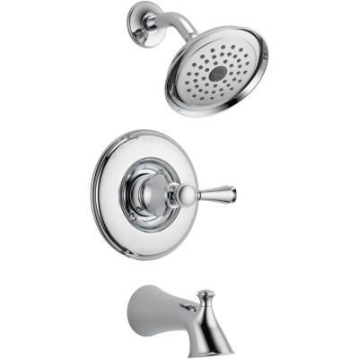 Delta Silverton 1-Handle Tub and Shower Faucet in Chrome-144713 at The Home Depot $109