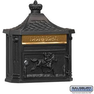 SALISBURY INDUSTRIES Victorian Mailbox - Black, $100