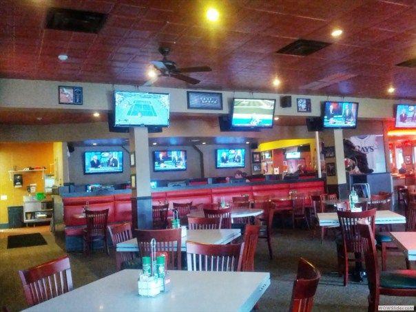 Harry's Sports Bar & Grille Dining Area | Siesta key beach
