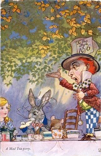 Alice, Mad Hatter's tea party (;) excitedness!!  )