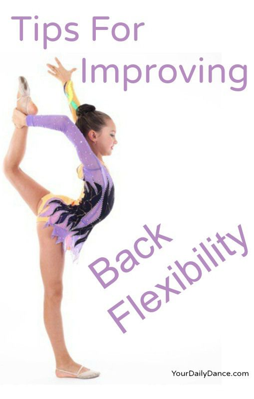 Increasing flexibility in your back.