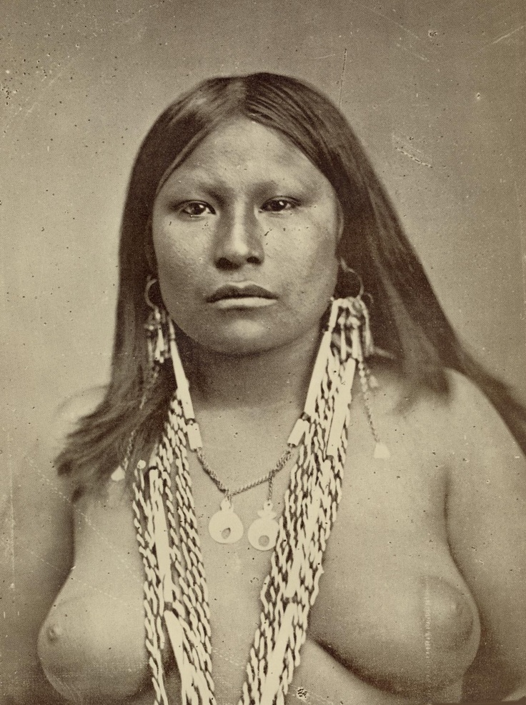 naked native american lady