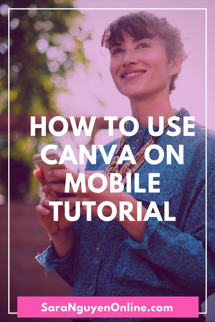 Learn how to install and use the Canva app to design graphics for Pinterest, Instagram, Facebook and more from your mobile with ease.   #socialmedia #socialmediamarketing #canva #graphicdesign #onlinebusiness #onlinemarketingtools #onlinemarketing #socialmediatips #canvatutorial #canvatutorialsdiy #canvastepbystep #canvatips #canvatipstutorial