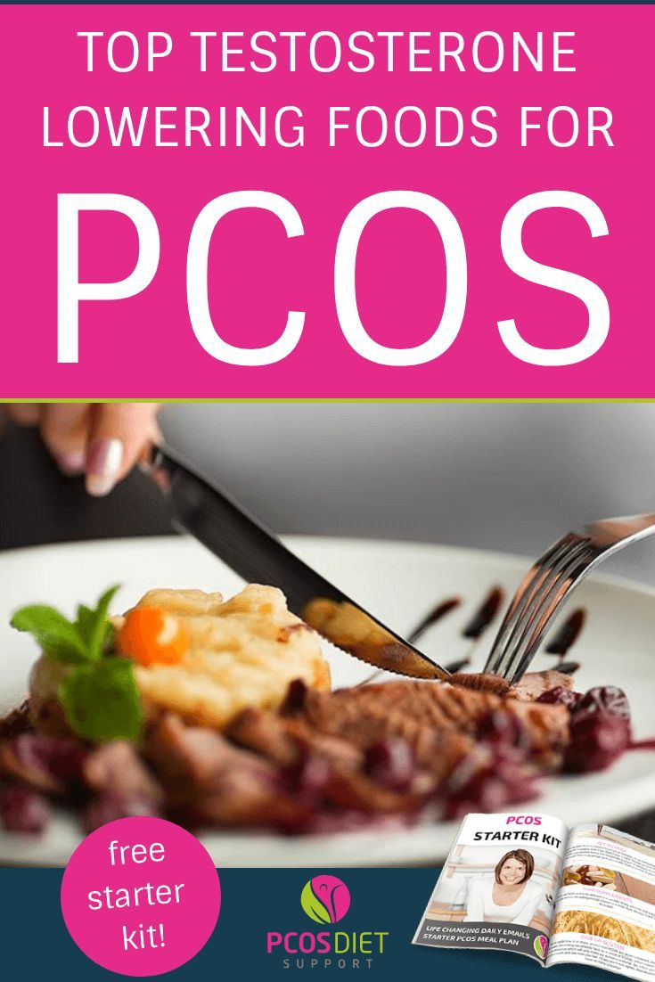 How to lower testosterone in PCOS – Focus on these foods