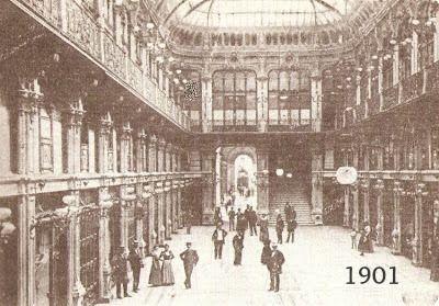 Ecco una delle #gallerie più belle di #Torino all'inizio del secolo scorso! Riuscite a riconoscerla? #1901