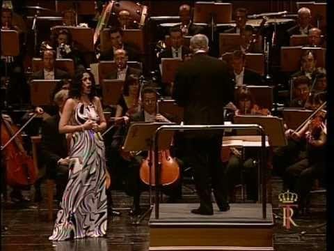 Angela Gheorghiu - Le Cid: Pleurez mes yeux - Madrid 2007