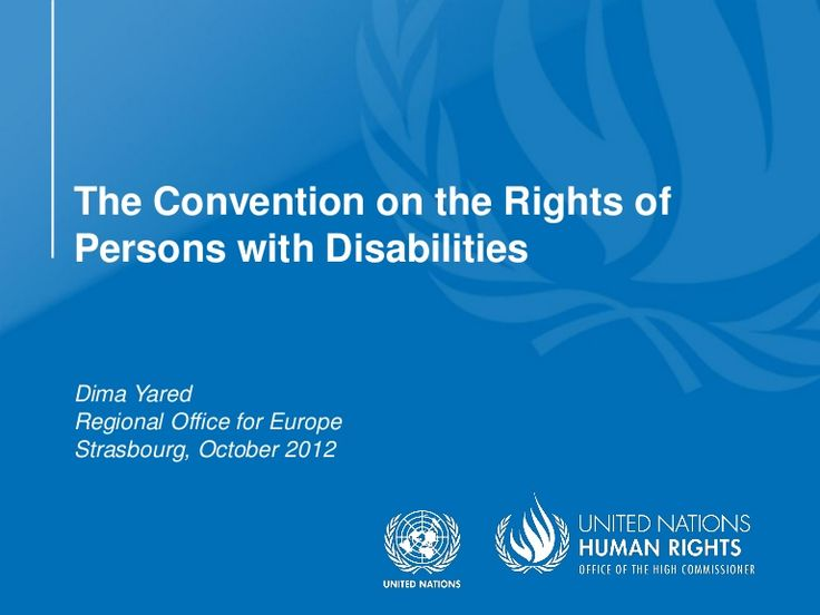 united-nations-convention-on-the-rights-of-persons-with-disabilities by IFsbh  via Slideshare