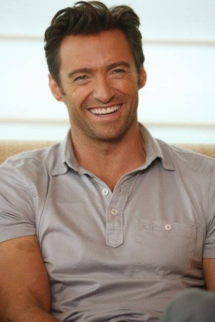 Hugh Jackman and his glorious smile