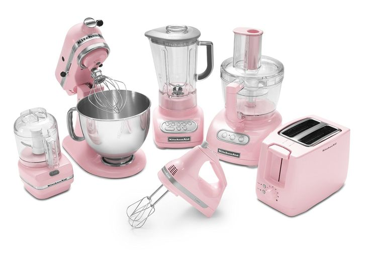 KitchenAid Artisan Series Pastel Pink Appliances