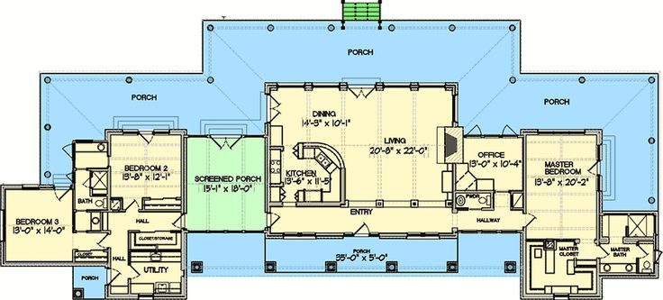 Best 25 hill country homes ideas on pinterest small for Hill country floor plans