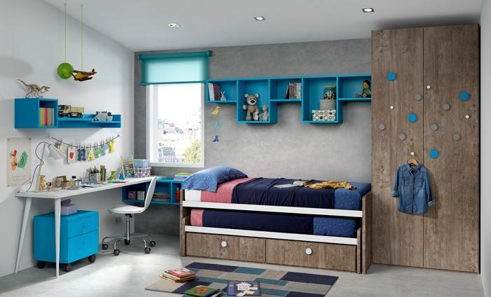 Kibuc muebles y complementos juveniles chroma - Muebles dormitorios ninos ...