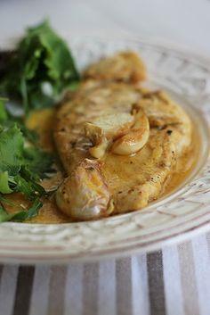 Receitas de Portugal: Bifes de frango com mostarda, mel e limão