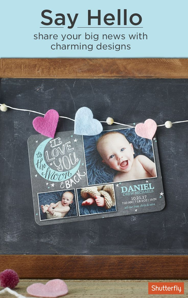 297 best Baby images – Birth Announcements Shutterfly