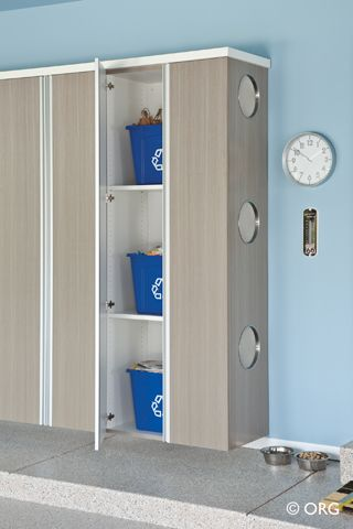 If You Have The Space, You Can Use Modular Cabinets In Your Garage For  Recycling Bin Storage