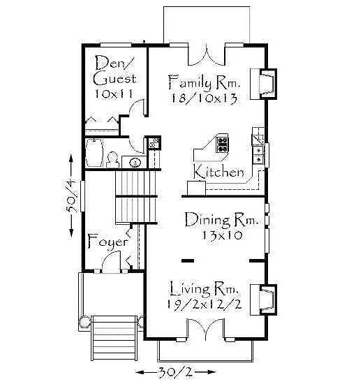 Plan 8563ms Narrow Uphill Lot Architectural Design House Plans Open Floor And House