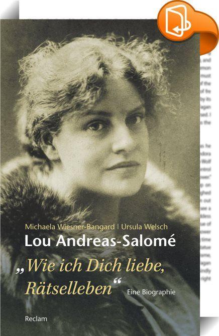 Lou Andreas-Salomé. »…wie ich Dich liebe, Rätselleben.«    :  Mit Nietzsch… – stepanini