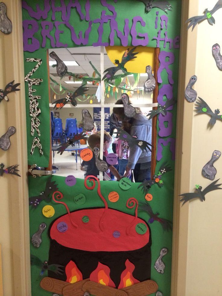 Decorating Ideas > 319 Best Images About Bulletin BoardsClass Doors On  ~ 202211_Halloween Decoration Ideas Preschool