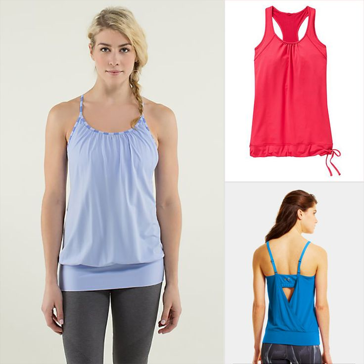 Flattering Fitness Tops That Hide a Belly | Weight loss ...