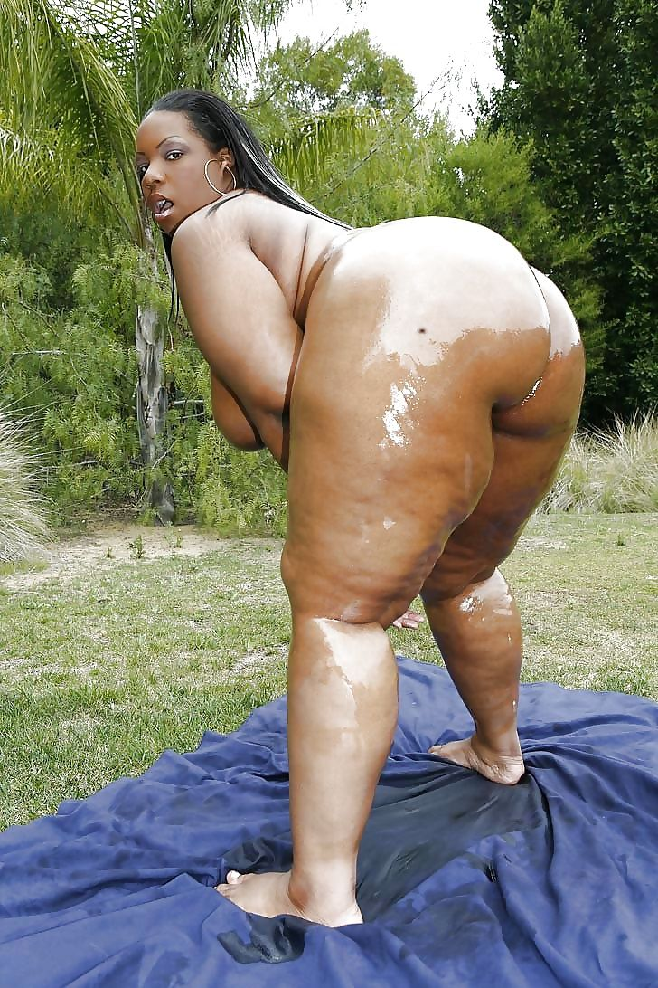 crystal clear black chick naked
