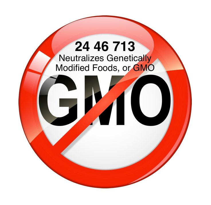Grabovoi number sequence to Neutralizes Genetically Modified foods, or GMO.  24 46 713