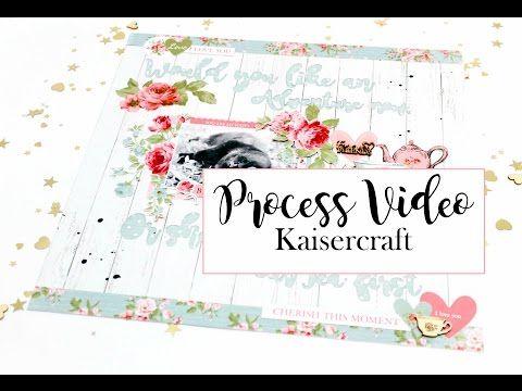 Neat and Crafty: Beautiful memories layout | Kaisercraft DT