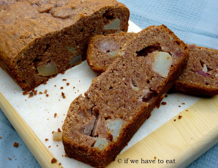 Pear Raspberry Bread | Thermomix