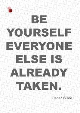 Be Yourself, Everyone Else is Already Taken - Oscar Wilde #quotes