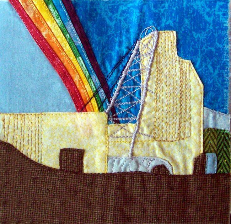 2016 05 23 Rainbow Quilt Project for Donna 1 --- Holloway Mine Rainbow, Matheson, Ontario, Canada (1995)