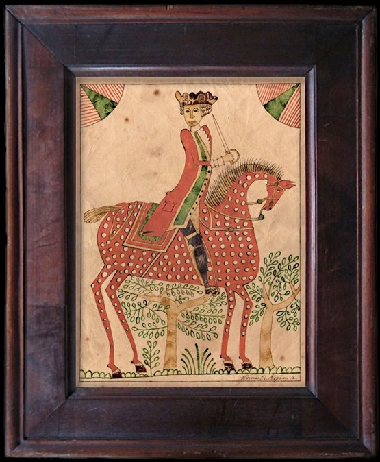 Stephanfolkart.com: Stephanfolkart Com, Art Fraktur, Art Folk Primitives, Illustration, Art Drawings, Antique Frakturs, Character Design Animals, Folk Horses, Drawings Of
