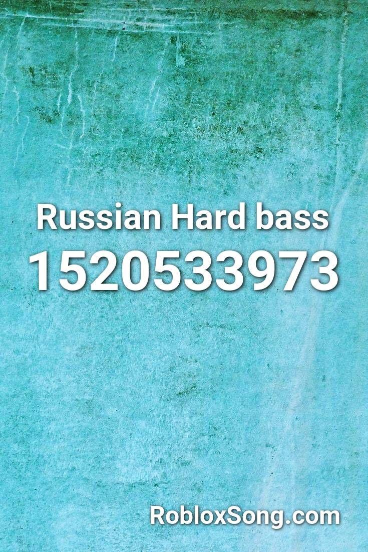 Russian Hard Bass Roblox Id Roblox Music Codes In 2020 Roblox Discord Remix