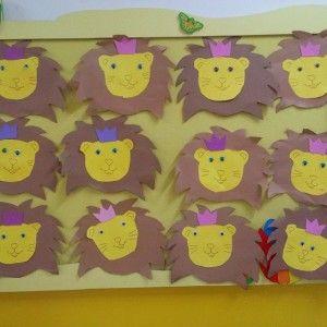 lion craft idea for kids (5)
