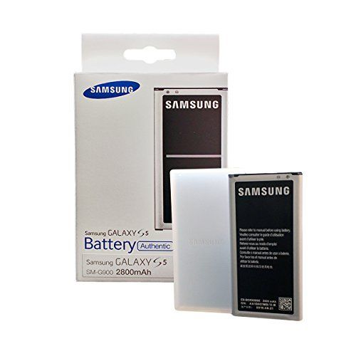 Samsung Galaxy S5 OEM battery (NFC) 2800mAh - Retail Packaging  https://topcellulardeals.com/product/samsung-galaxy-s5-oem-battery-nfc-2800mah-retail-packaging/  OEM Original Samsung Battery for the Samsung Galaxy S5. Reliable battery power for your Galaxy S5 The Galaxy S5 Battery (2800 mAh) is a high-quality Lithium-Ion battery that has been designed specifically to deliver the most reliable and long-lasting power for your Samsung Galaxy S5. Offers...