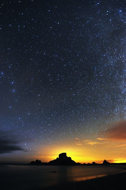 Nightsky at Castelejo, Costa Vicentina, Portugal --Stellify--by Andy Mumford