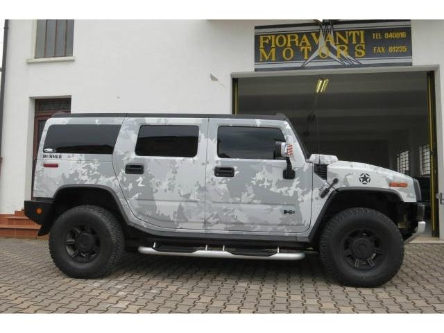 Hummer H2 GPL, navi, telecamera, pelle a 26 Euro   Fuoristrada SUV   68.000 km   Benzina   235 Kw (320 Cv)   10/2007