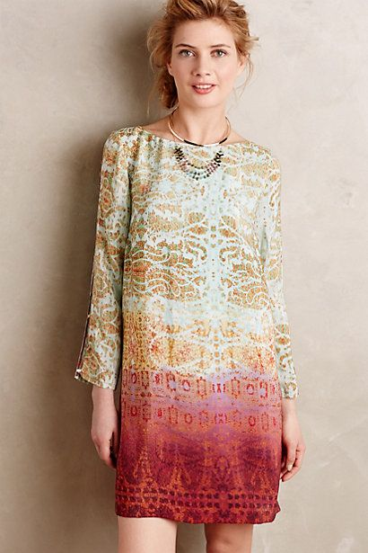 Cleome Dress #anthropologie | For the closet...