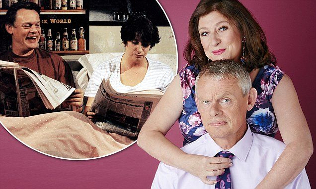 Former co-stars Martin Clunes and Caroline Quentin to be reunited on season 7 of Doc Martin -- coming to American public television this winter!