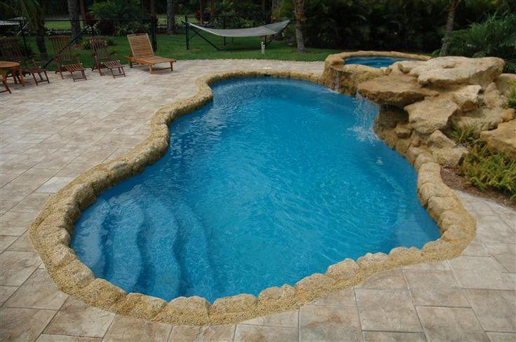50 Best Outdoor Fun Images On Pinterest Pool Spa Fiberglass Pools And Fiberglass Swimming Pools