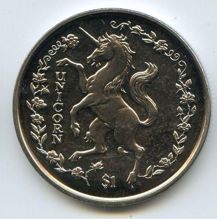 ЕДИНОРОГ Сьерра Леоне 1 доллар 1997