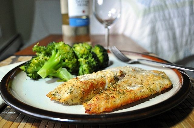 Little B Cooks: Chronicles from a Vermont foodie: Parmesan & Dill Encrusted Haddock