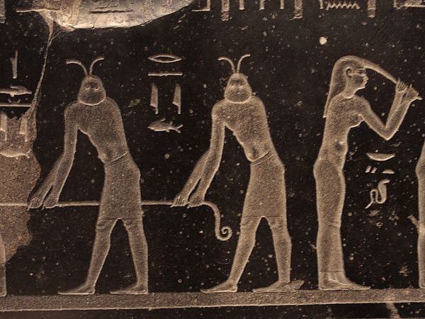 Egyptian civilization is derived theory by the aliens. (…?)  Oh! Alien