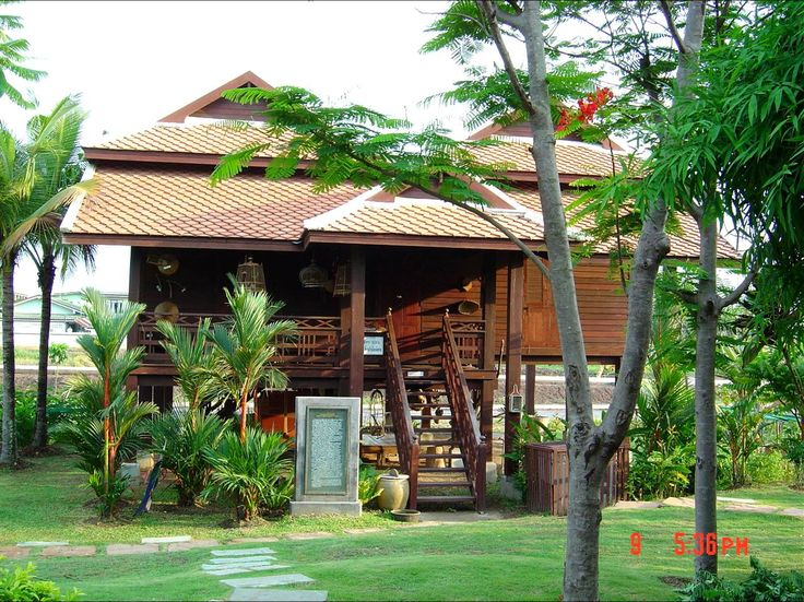 Home ideas thailand house plans house design a for Wooden home plans