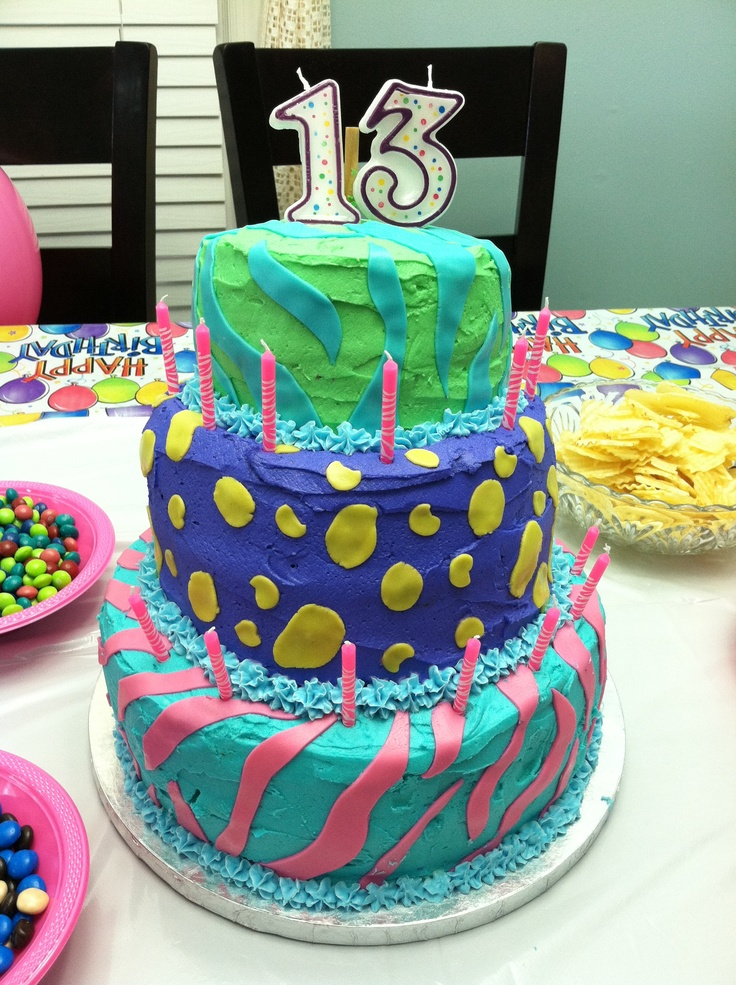 It S My Bday 13 Years Old Not My Cake I Had Chocolate