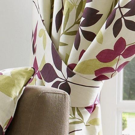 Dunelm Purple Curtain Tiebacks