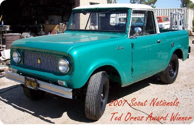 International Harvester Only of Southern California- Your complete source for IH Scout parts