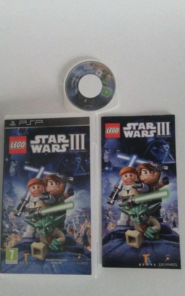 Lego Star Wars III - PSP - Complet