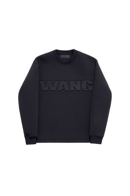 The ENTIRE Alexander Wang For H&M Collection — Right Here! #refinery29  http://www.refinery29.com/2014/10/76326/alexander-wang-hm-entire-collection-pictures#slide44  Alexander Wang for H&M Men's sweatshirt, $59.95, available on November 6 at H&M.