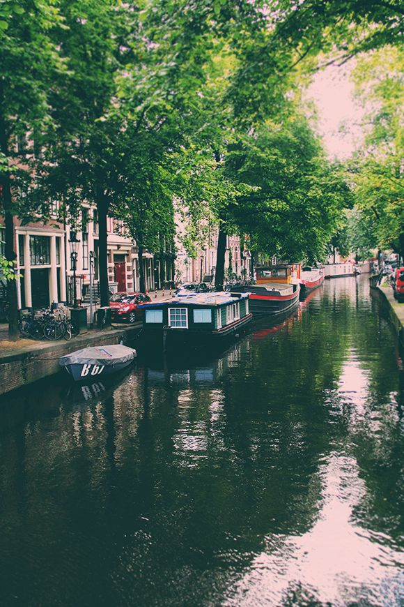 Amsterdam is wonderfully romantic if you are looking for a more urban trip.  Ride a bike alongside your sweetheart, and walk the canals in the evening hand in hand.