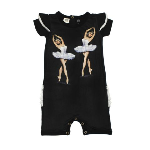 Buy the Dance Rehearsal Playsuit online now at www.rockyourbaby.com