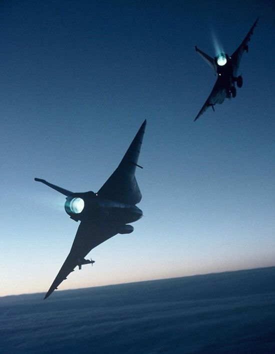 Saab J35 Draken ---------------------- Swedish fighter jet manufactured between 1955 and 1974, exported to Austria, Denmark and Finland and later the United States to be used for test pilot training
