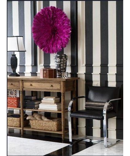 s jour mur rayure verticale bande r guli re rayure d clin e pinterest plumes. Black Bedroom Furniture Sets. Home Design Ideas